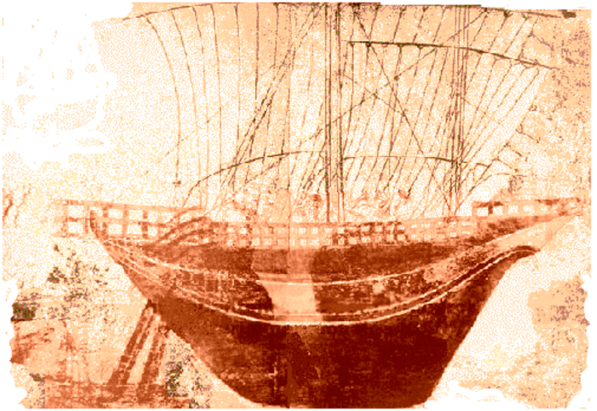Etruscan war ship