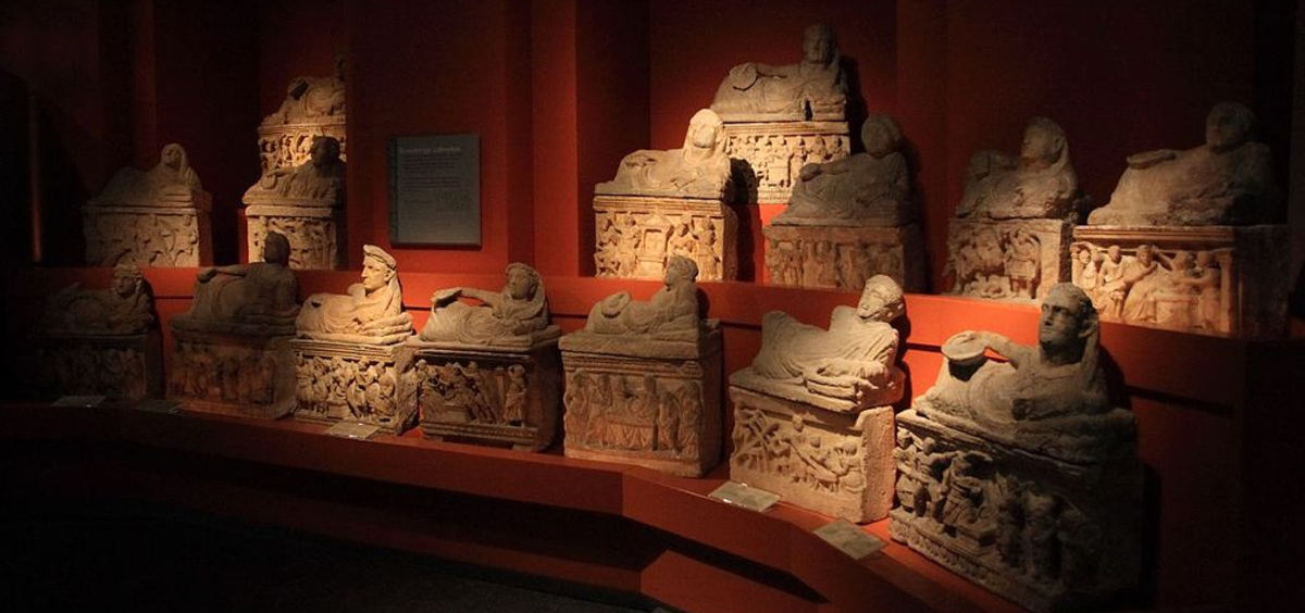 Etruscan sarcophagi