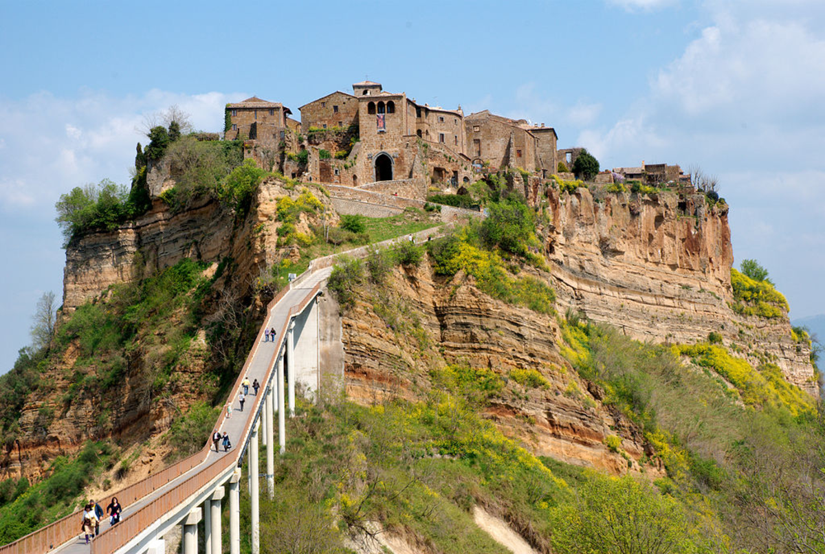 Etruscan city of Civita