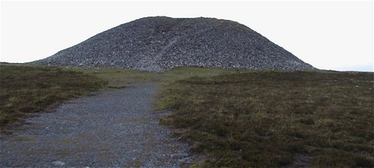 Queen Maeve's burial site.