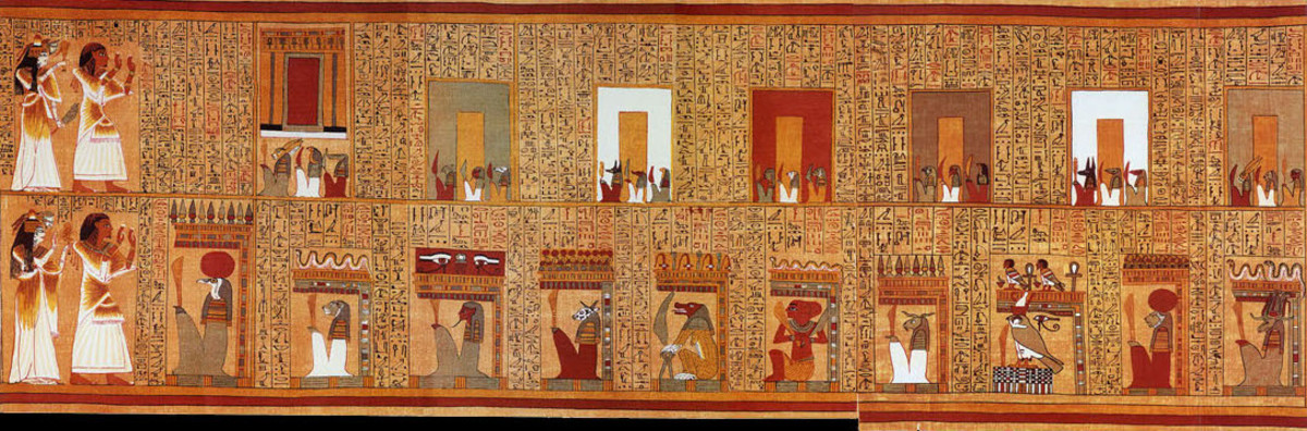 Guardians of Obstacles in the Book of the Dead