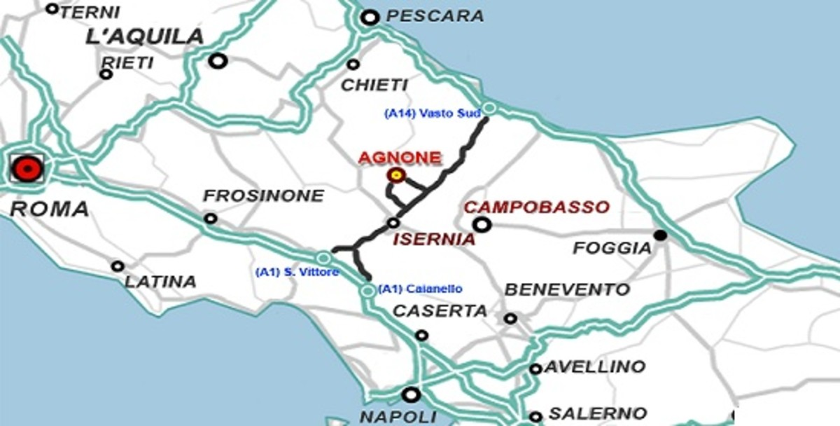 The Molise region of Italy with its two capital cities Isernia and Campobasso which the Samnites founded.