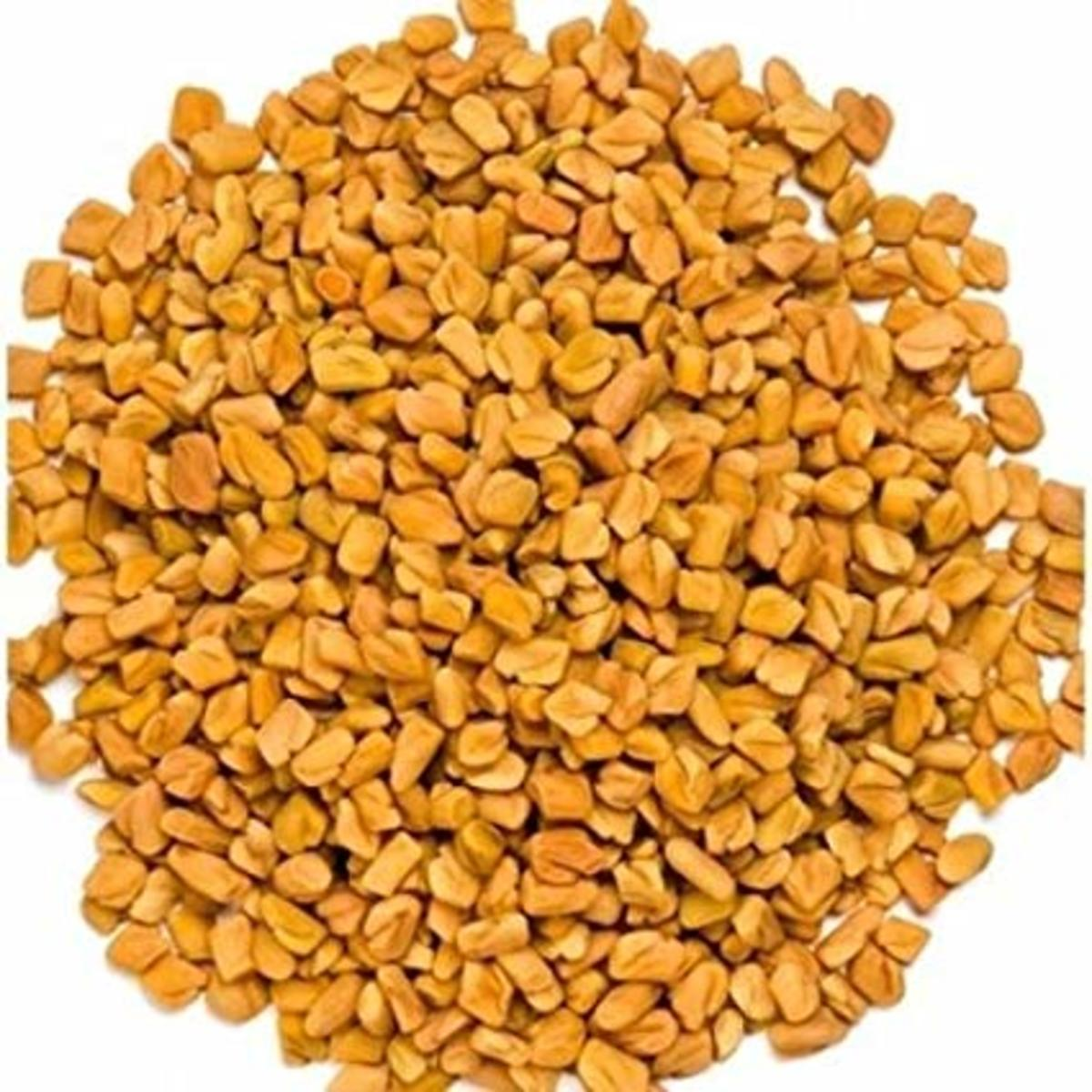 Methi Daana or fenugreek seeds