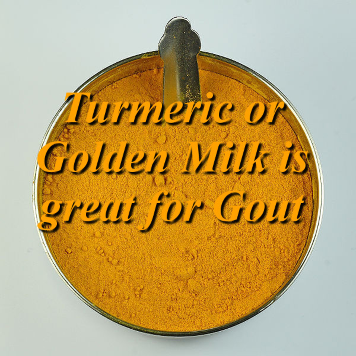 Golden Milk is Great for Gout