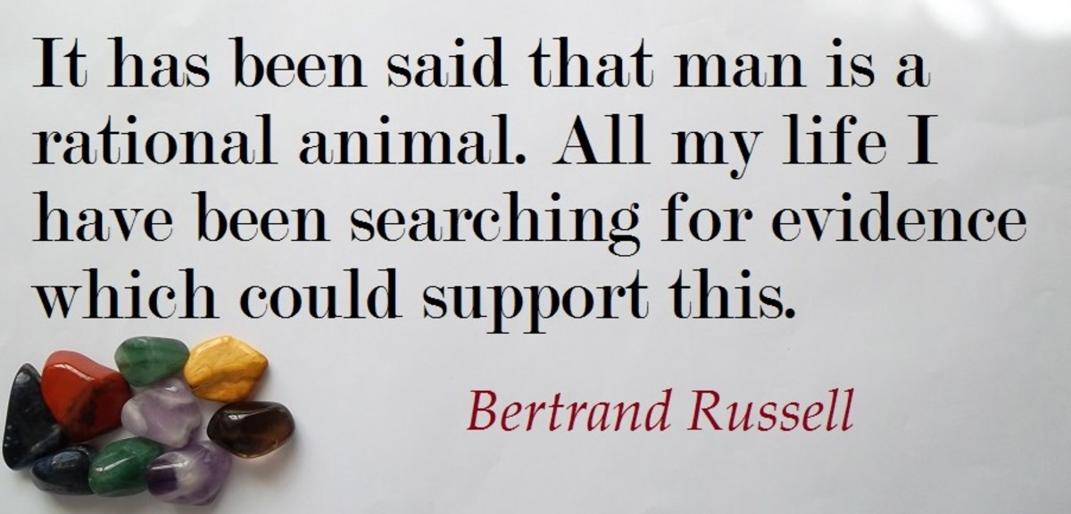 Bertrand Arthur William Russell born 18 May 1872 to 2 February 1970 was a famous British Author historian and critic.