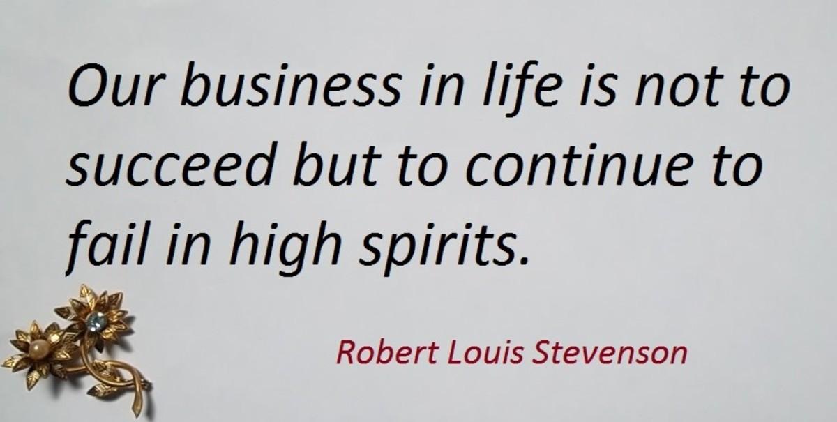 Robert Louis Balfour Stevenson born 1850 to 1894 was a famous Scottish novelist and poet.