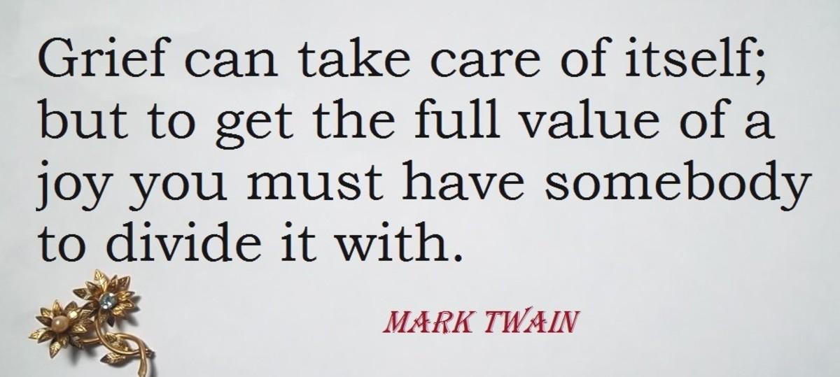 Quotation by Mark Twain