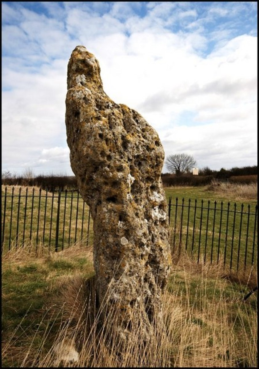 The King's Stone, photo by user Cameraman on Geograph