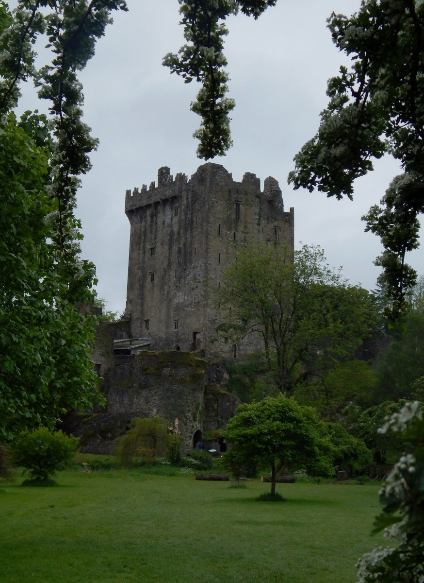 Blarney Castle in May