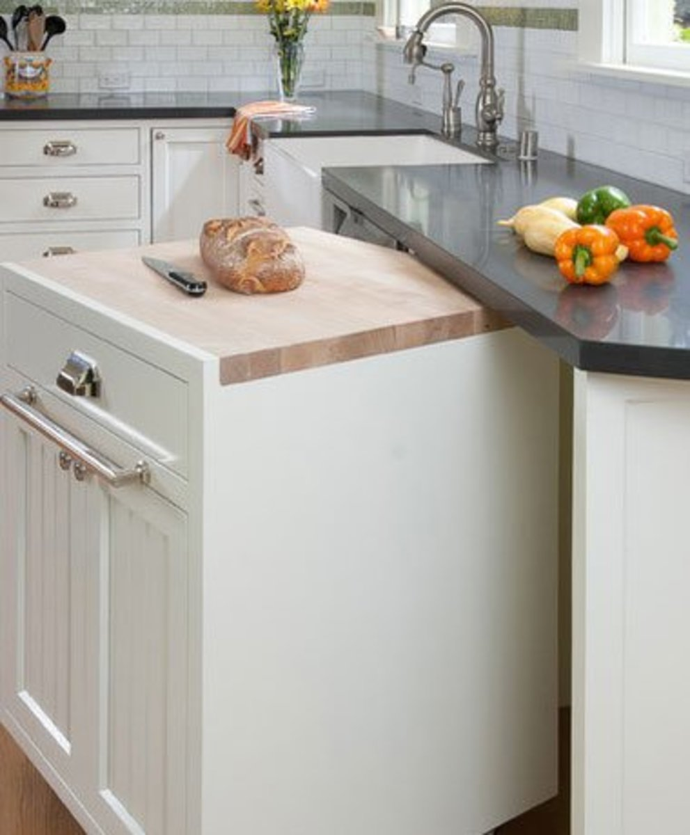 Small Kitchen Organizing Ideas   Click Pic for 20 DIY Kitchen Organization Ideas Rolling Cabinet