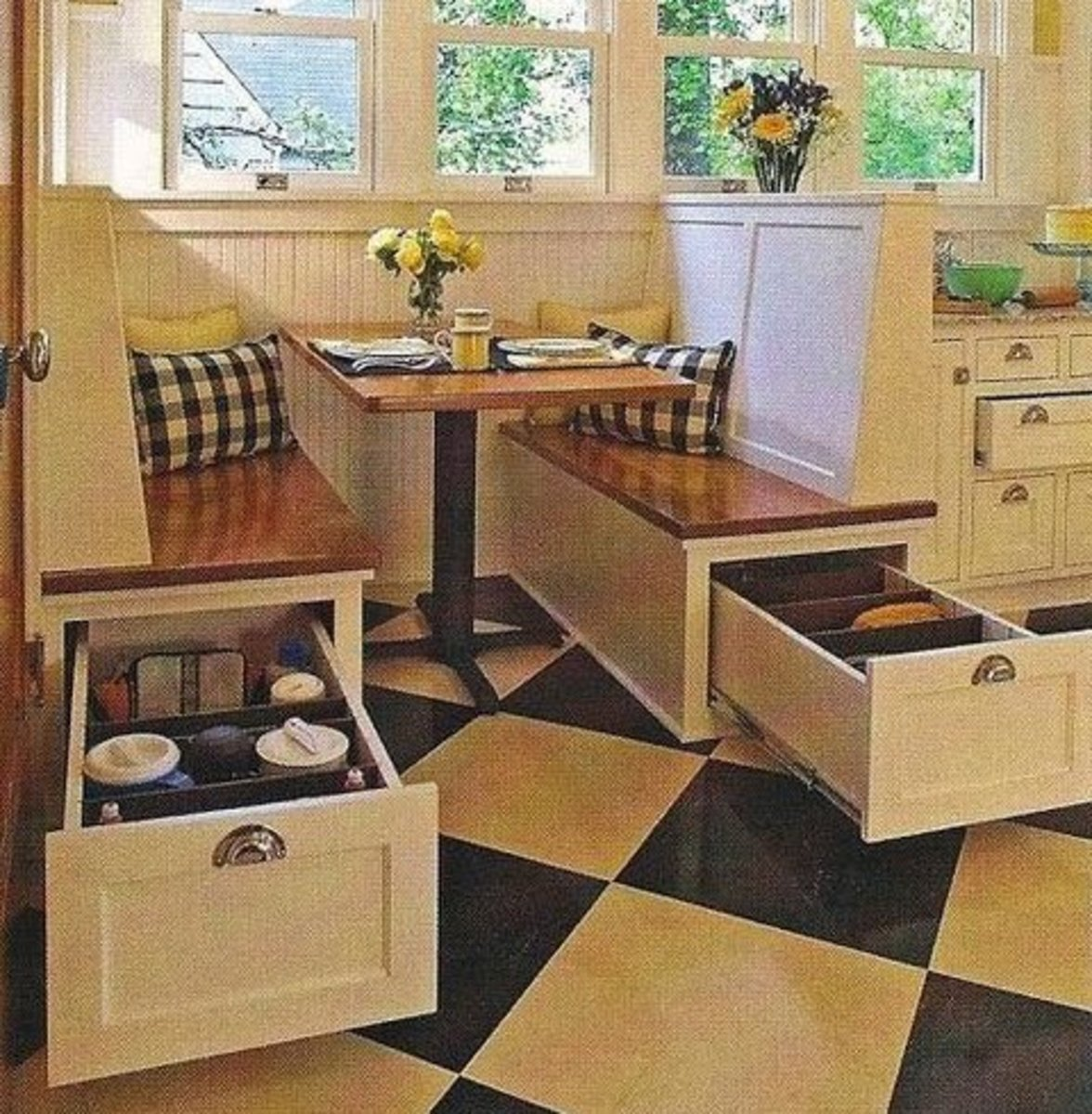 Small Kitchen Organizing Ideas   Click Pic for 20 DIY Kitchen Organization Ideas Underseat Storage
