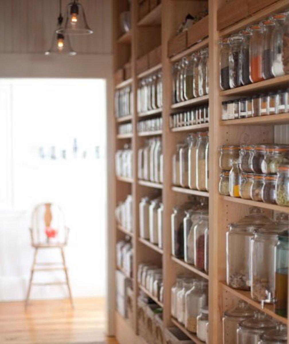Small Kitchen Organizing Ideas   Click Pic for 20 DIY Kitchen Organization Ideas Glass Jar Storage