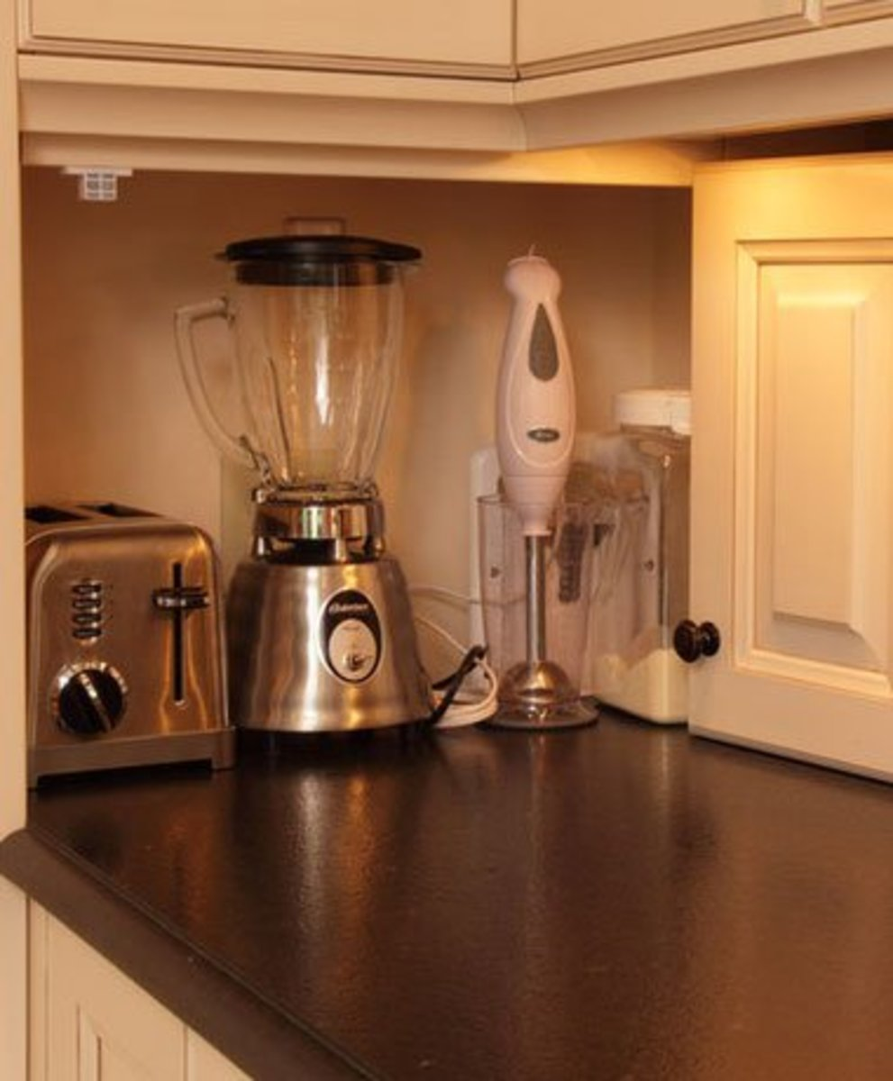 Small Kitchen Organizing Ideas   Click Pic for 20 DIY Kitchen Organization Ideas Appliance Garage