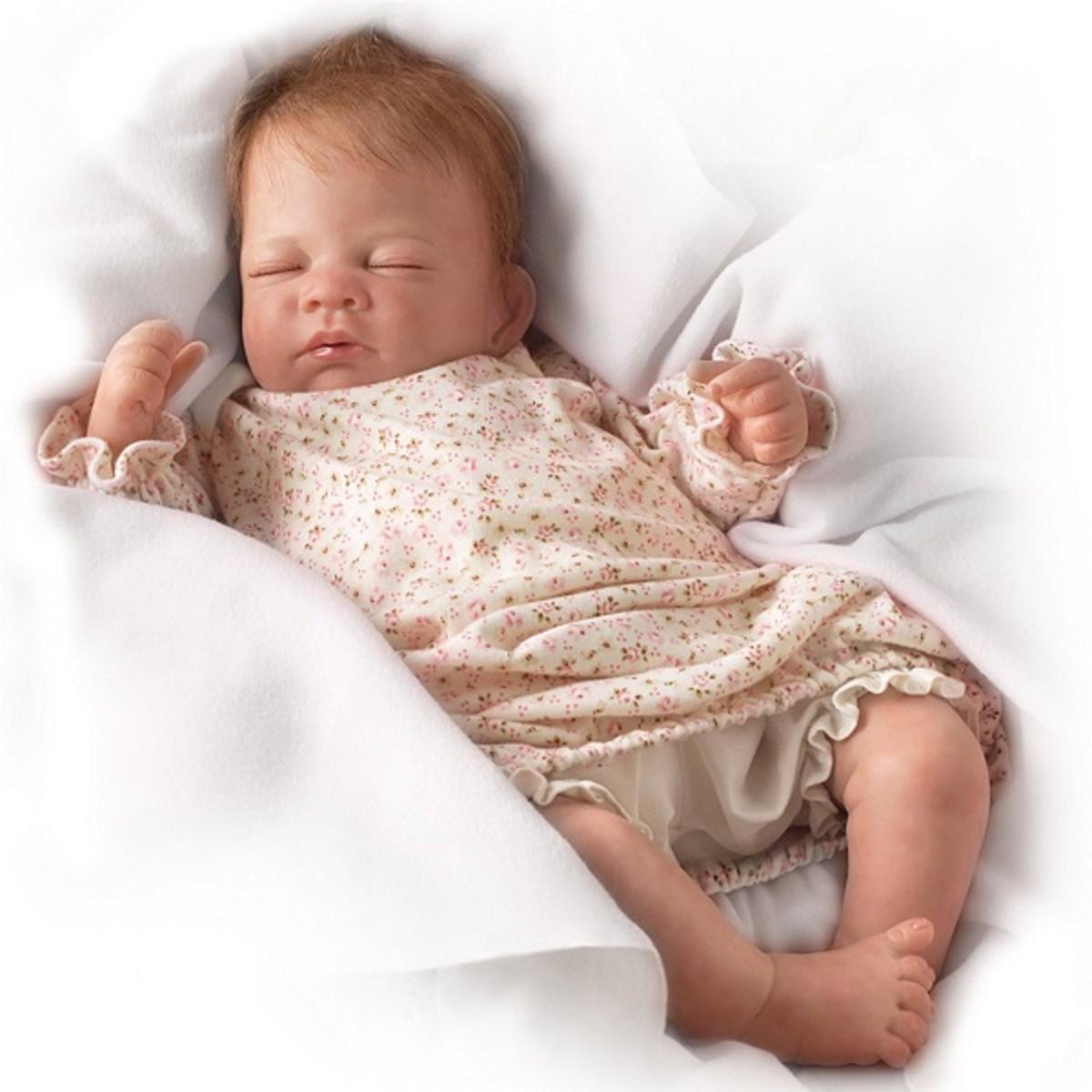 Shhh... She's waking up...