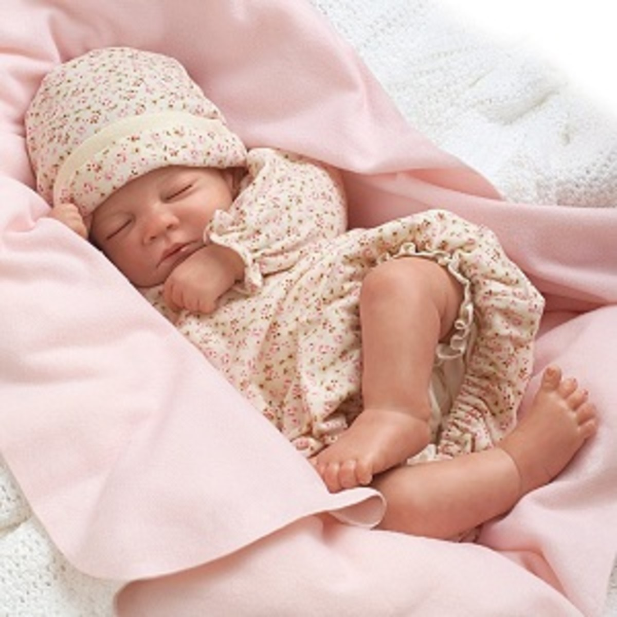 BREATHING Lifelike Vinyl Reborn Baby Doll ♡ Preemie ...