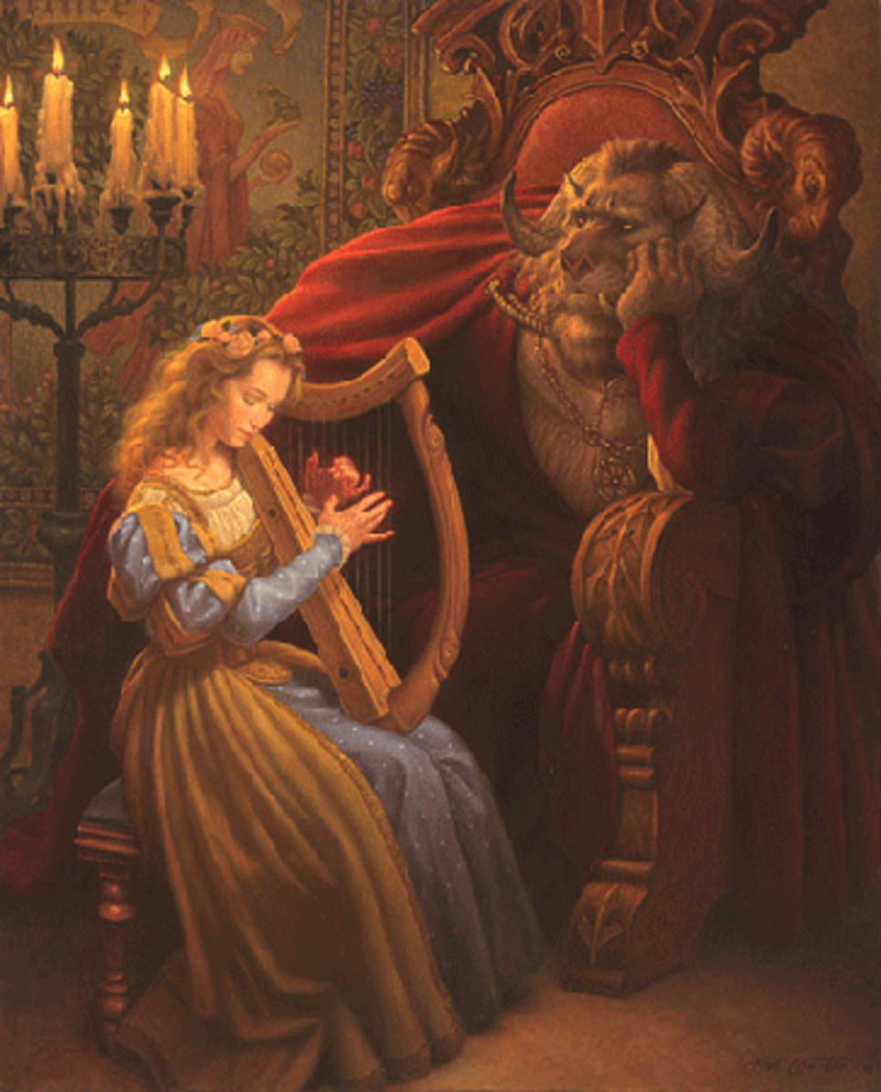 Beauty and the Beast, by Scott Gustafson