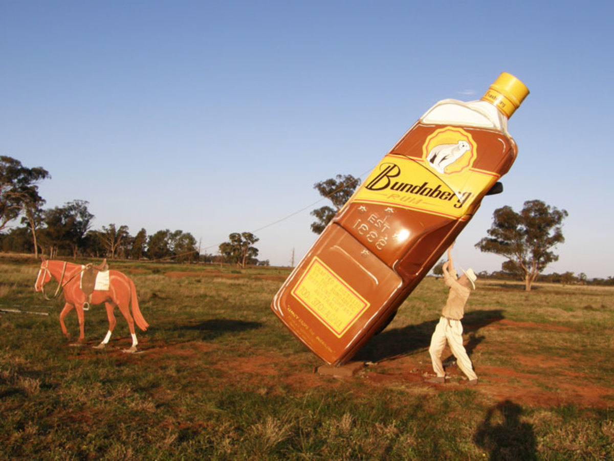 Famous Bundaberg Rum