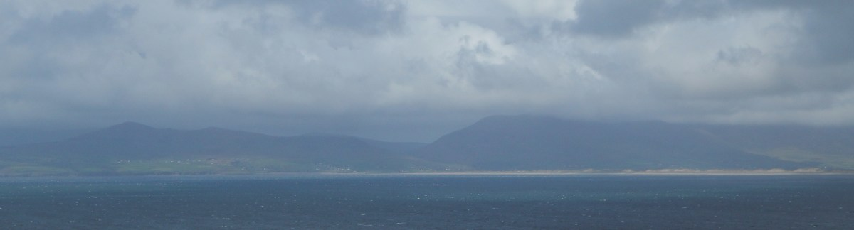 The Slieve Mish viewed from Dingle Bay