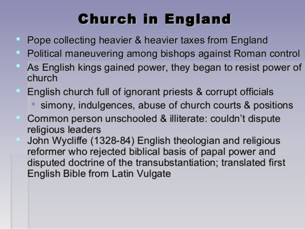 Church in the Age of Chaucer