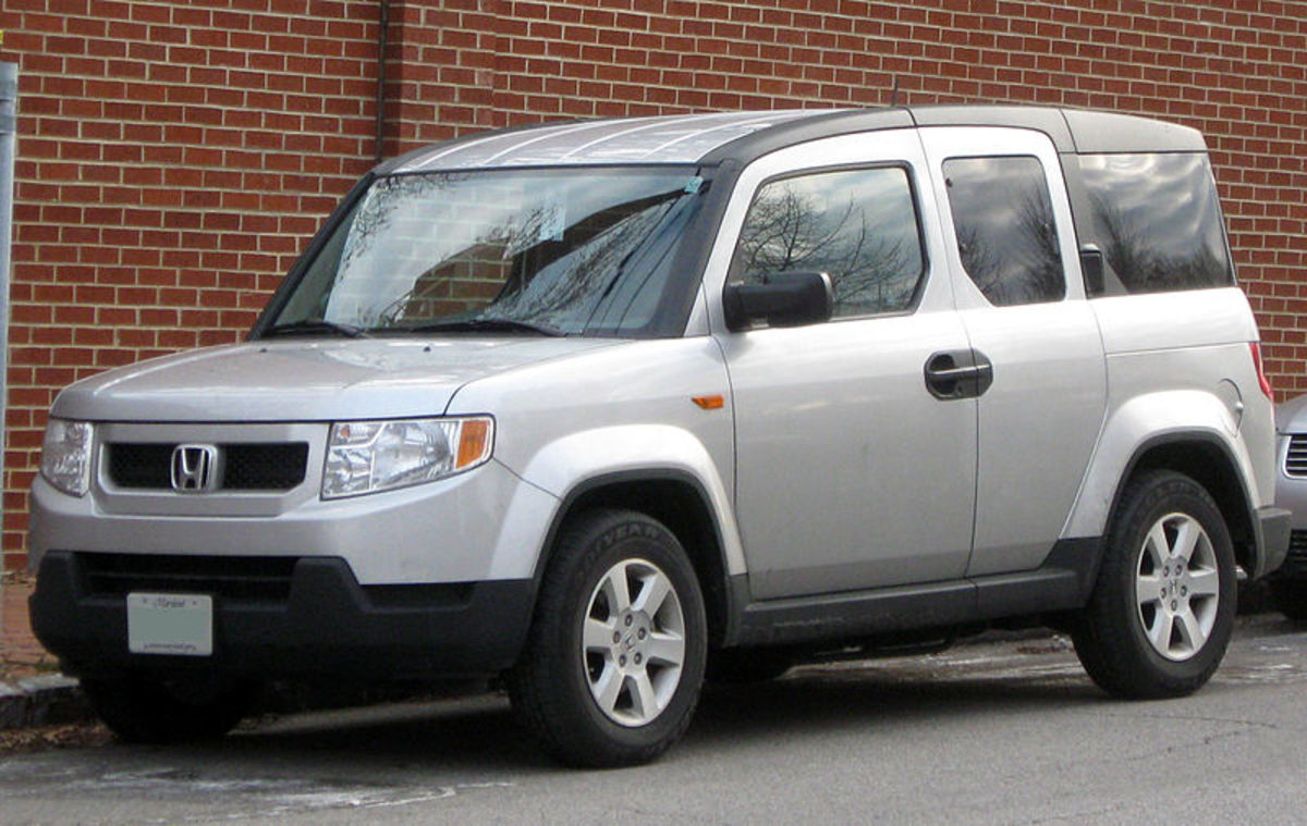 Honda Element's suicide doors