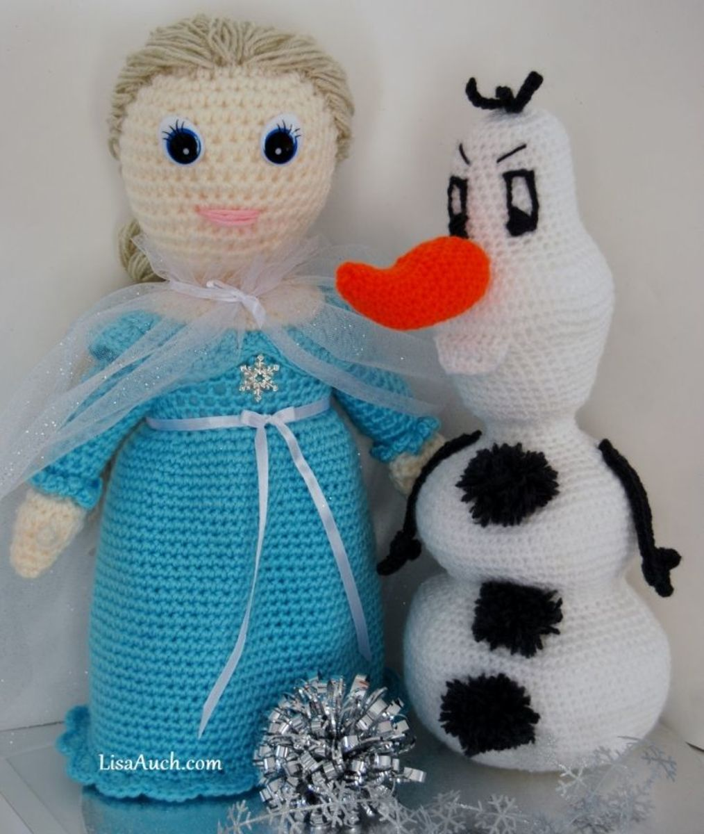 Frozen inspired Free Crochet Patterns
