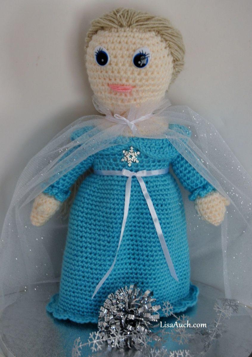 Crochet Frozen Doll : Free Frozen Inspired Crochet Patterns