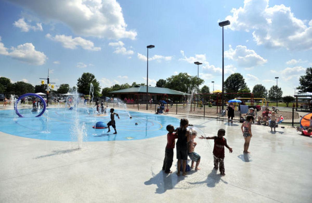Brahan Spring Park Splash Pad