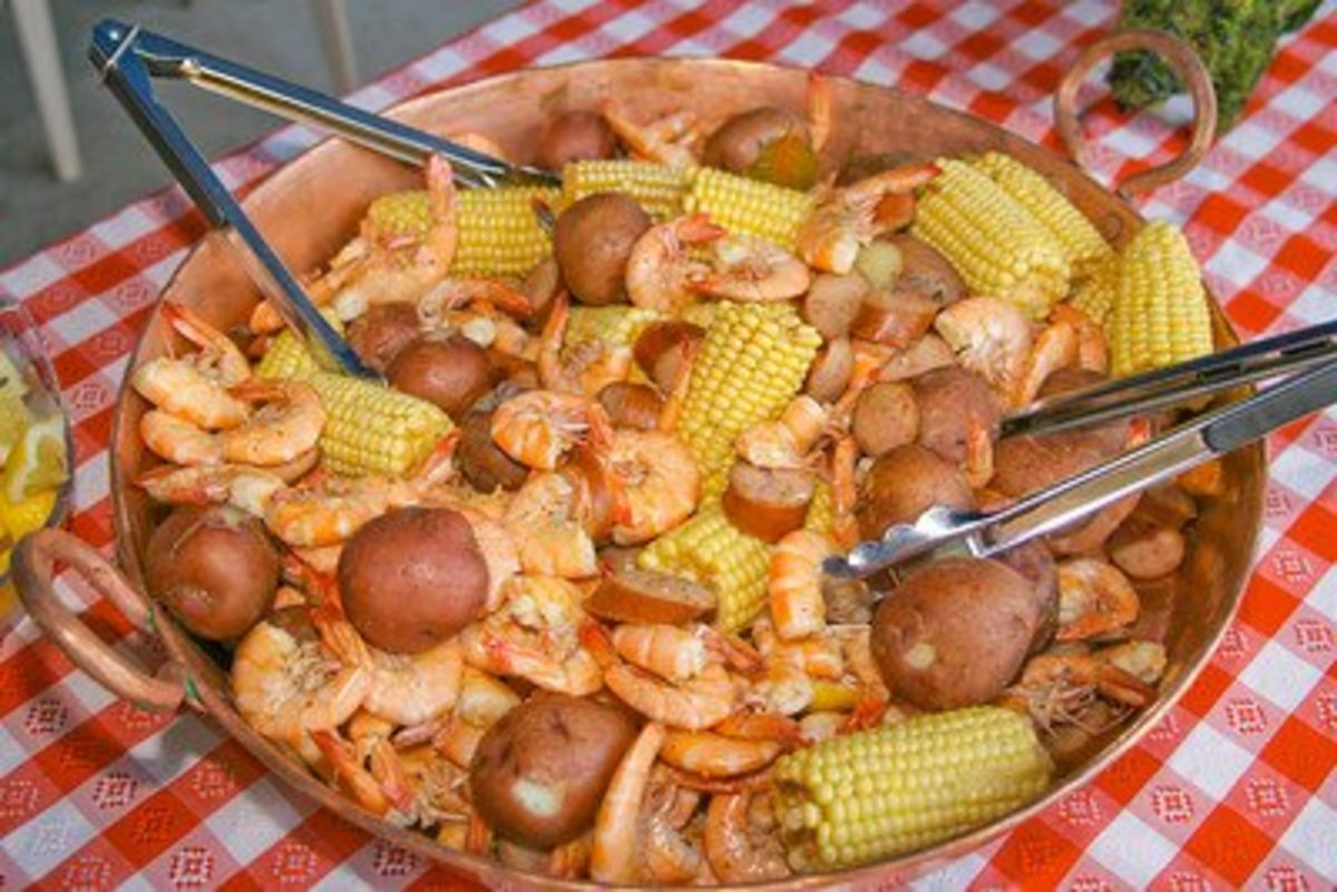Charleston, South Carolina's Finest Low-country Boil