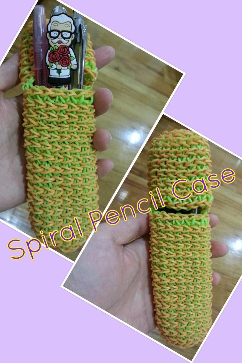 Spiral Pencil Case