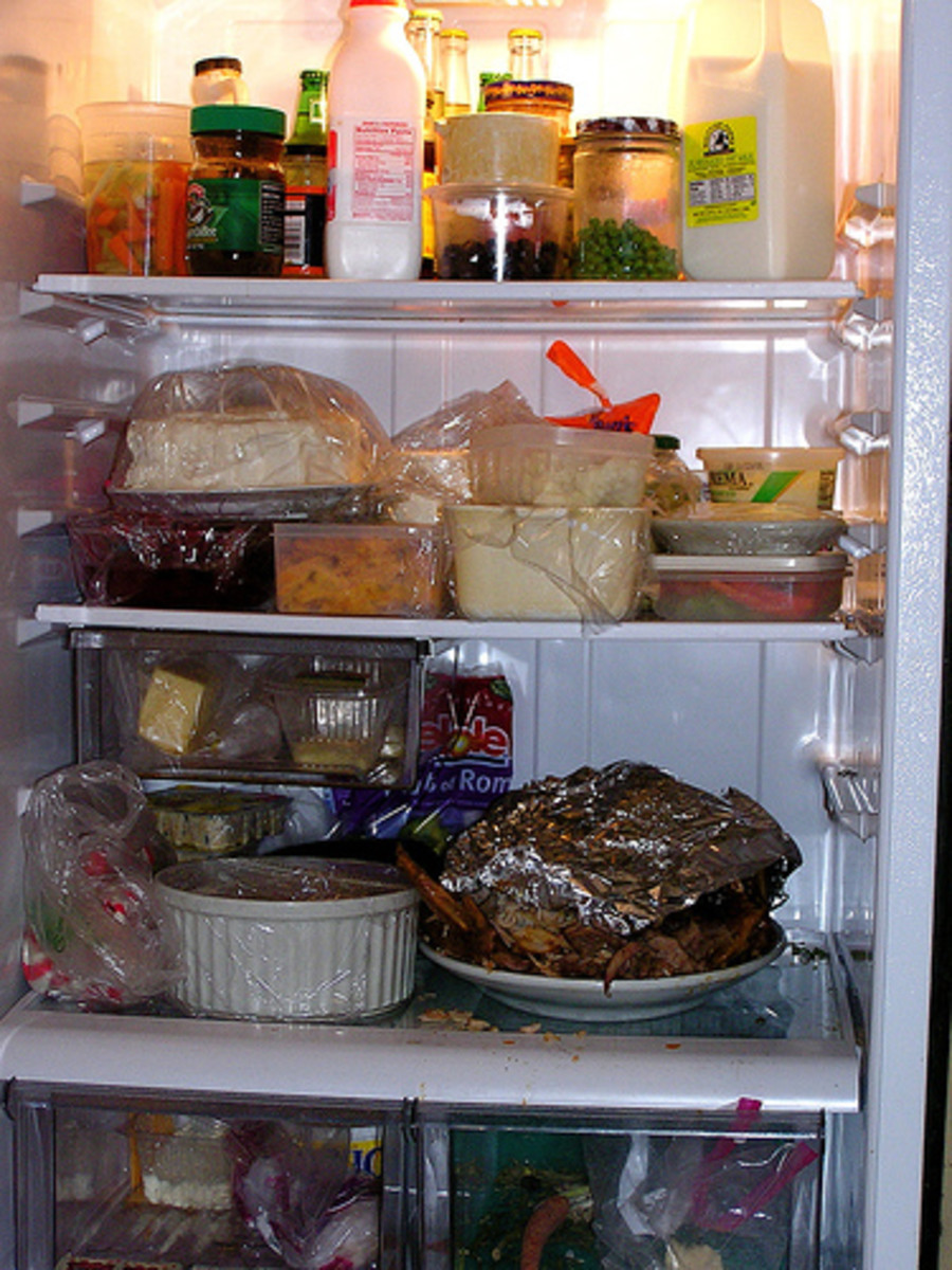 Plan your perishable food purchases so that your Fridge has enough room for them and leftovers on a daily basis.