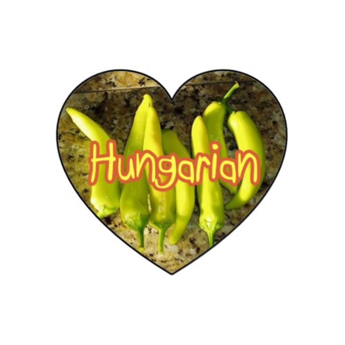 "Add fresh Hungarian ( or ""Banana"") peppers. This type may range from sweet and mild to moderately hot. If spiciness is not desired, taste test the pepper before adding to your dish!"