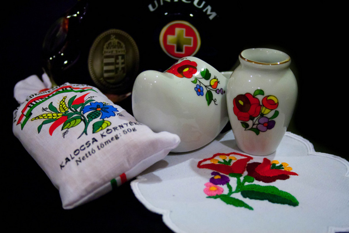 Trinkets of Hungarian culture