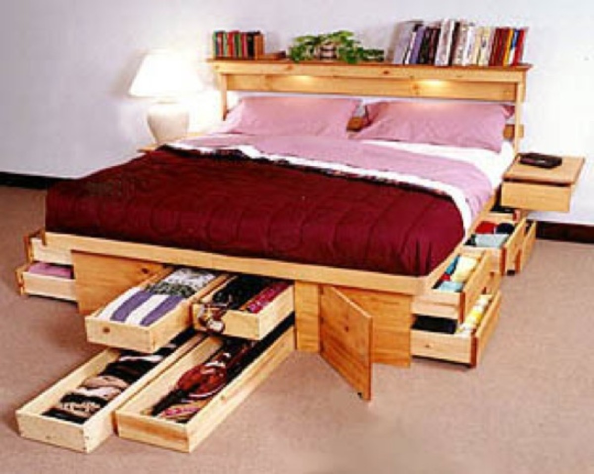 Nice Bed Frames with Storage
