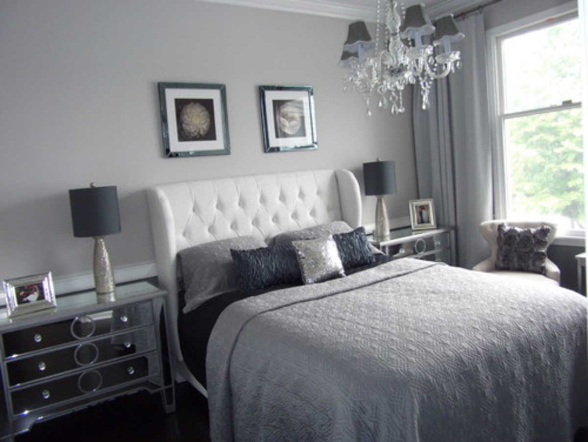 Gray Modern Bedroom