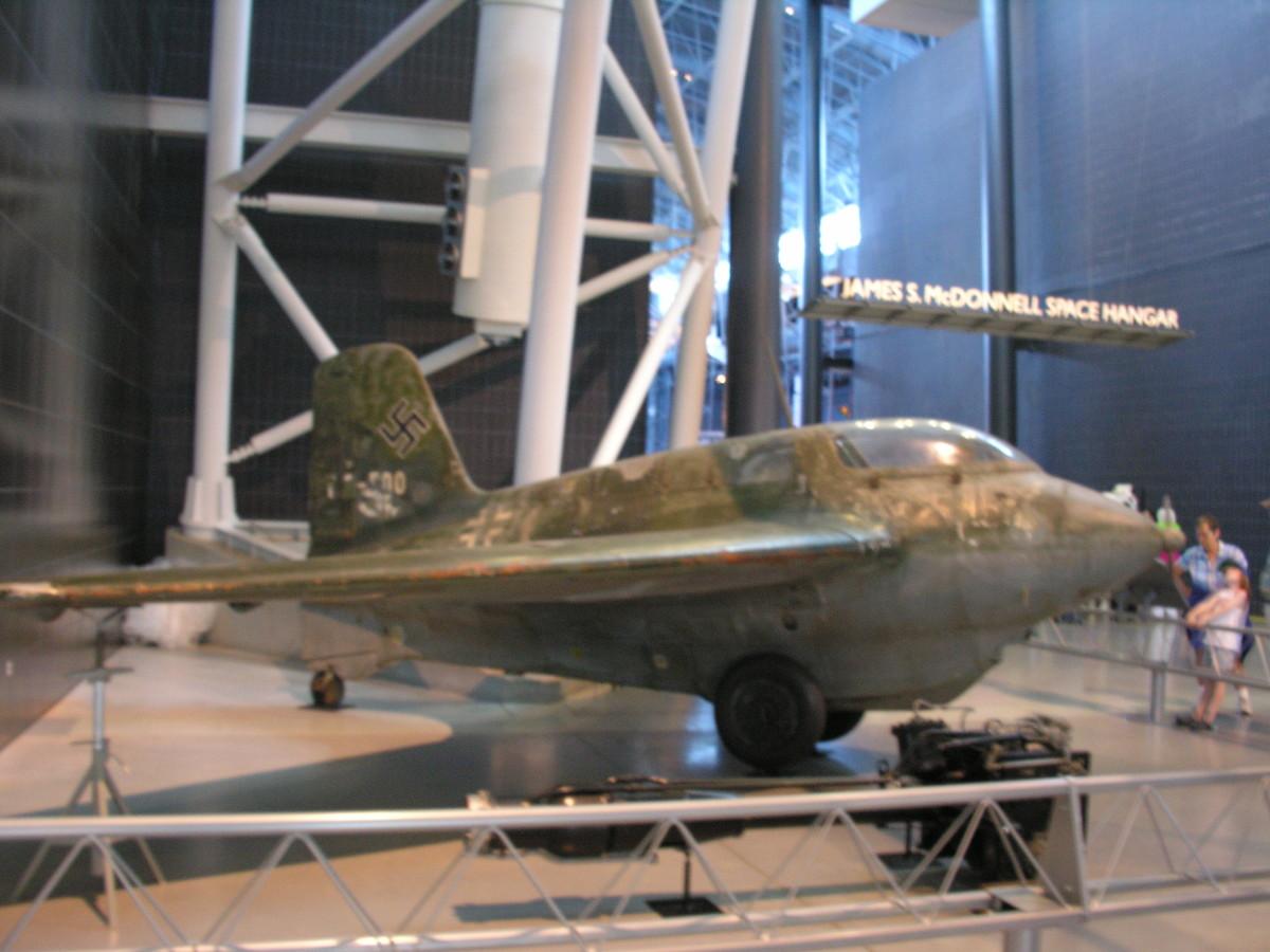 The Me-163 at the Udvar-Hazy Center