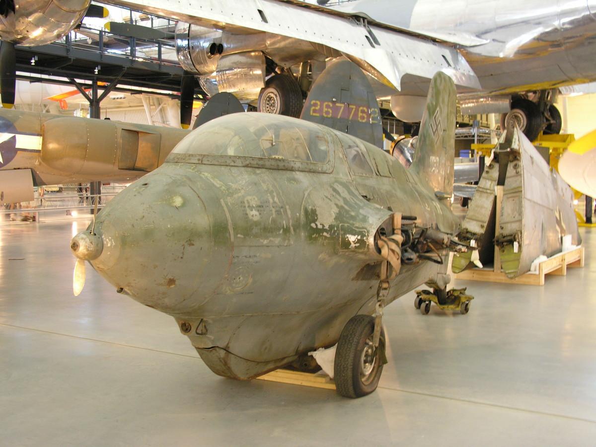The Me-163 at the Udvar-Hazy Center, June 2010.