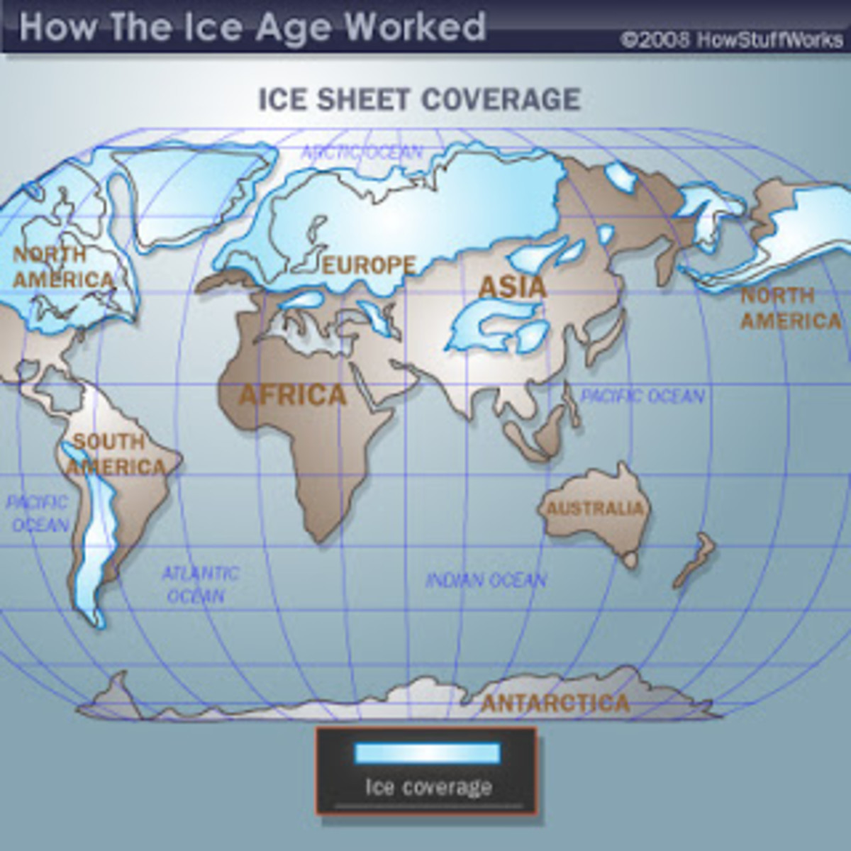 Ice Age Coverage map