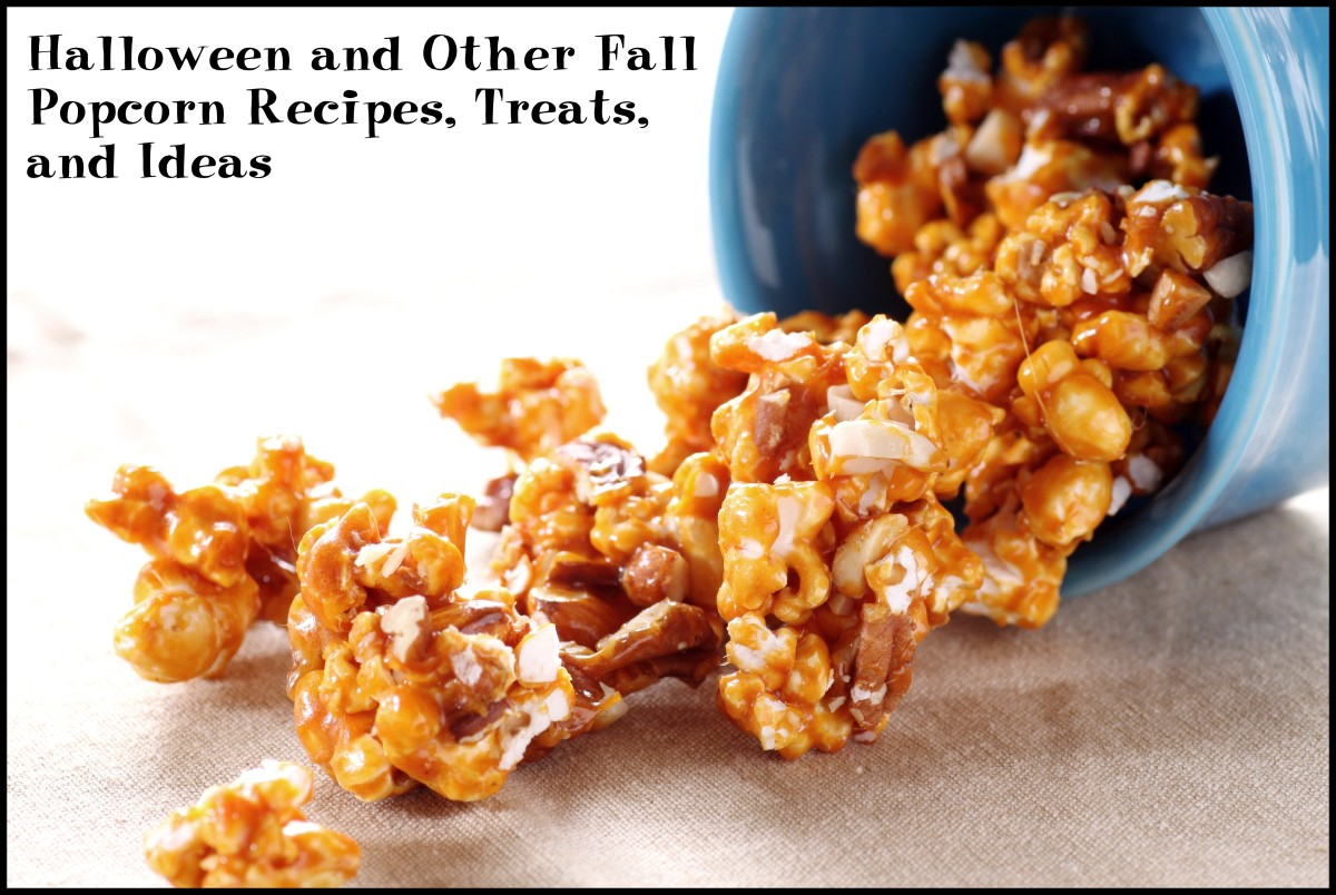 Halloween and Other Fall Popcorn Recipes, Treats, and Ideas