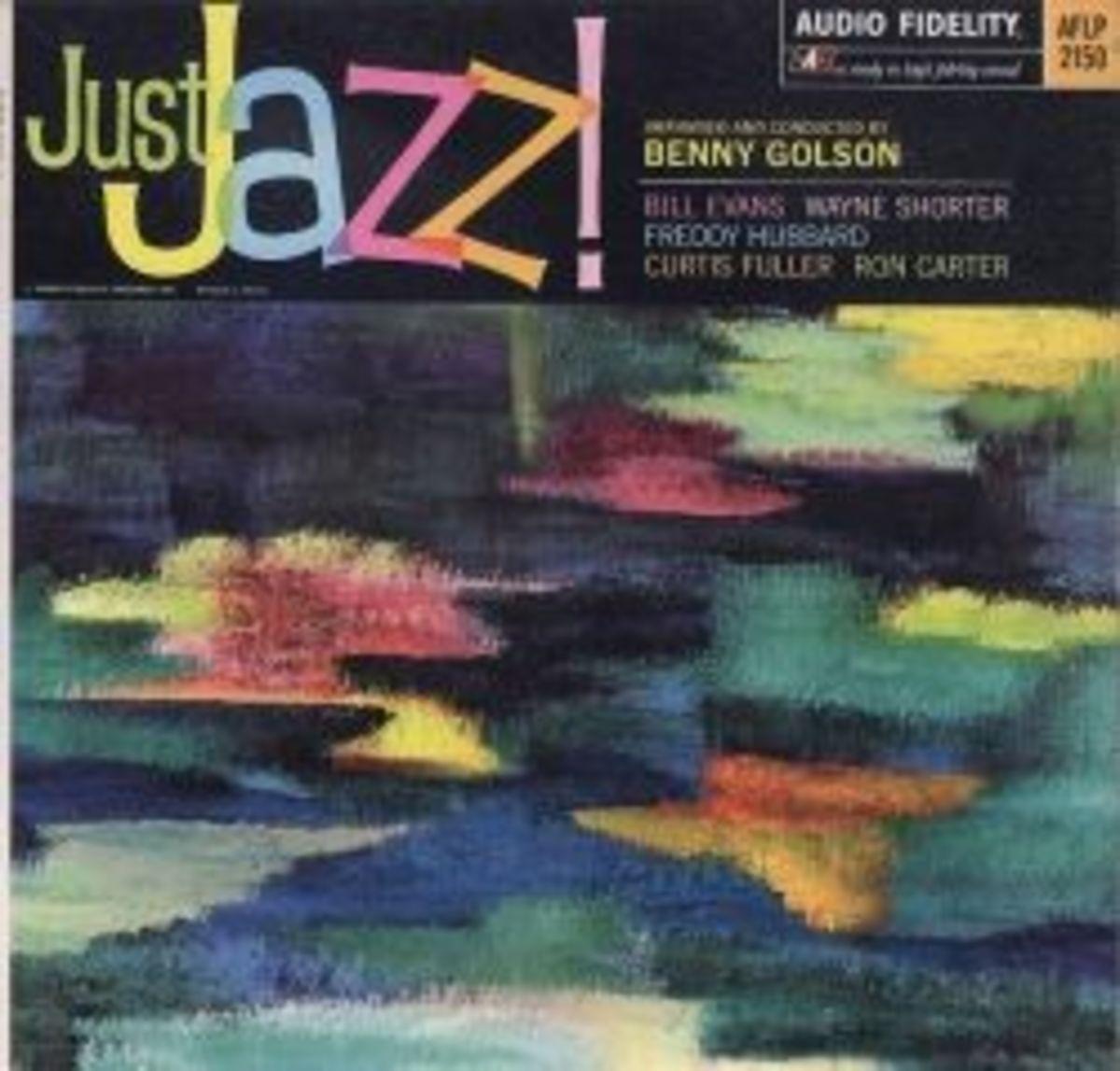 "Benny Goldon ""Just Jazz"" Audio Fidelity Records AFLP 2150 LP Vinyl Record"
