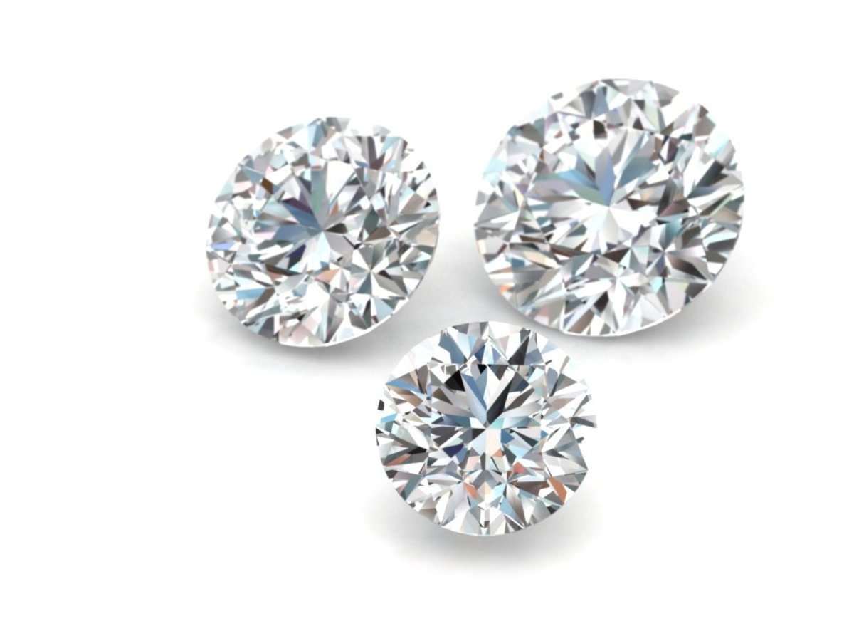 Loose, Round Cut Diamonds