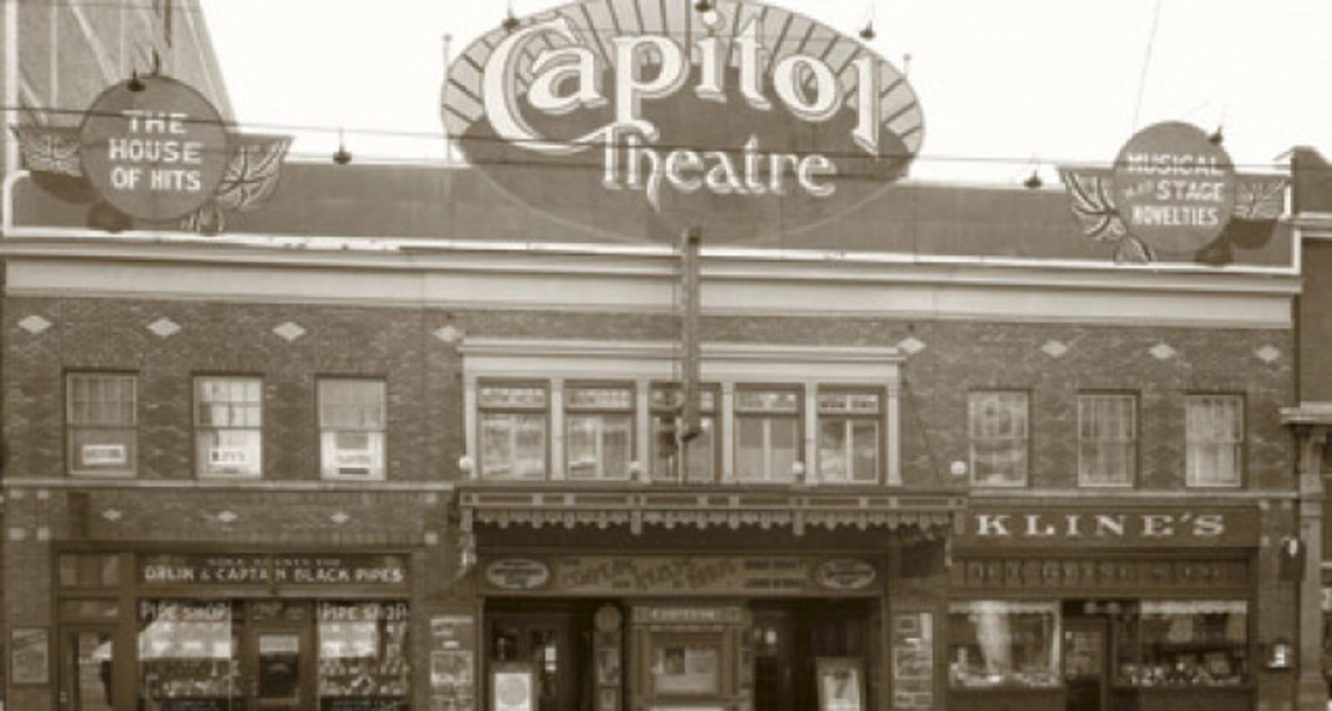 The original theatre -- in 2013 Fort Edmonton opened a 'tribute' theatre that shows films as part of an ongoing Cinema Series