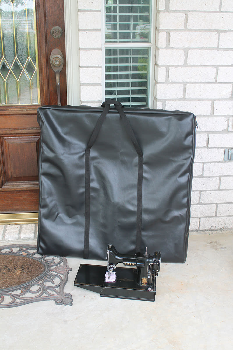 Singer Featherweight folding table travel bag
