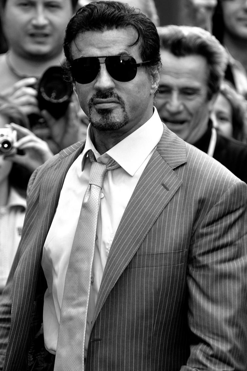 A health and fitness icon. Nobody does it better than Stallone.
