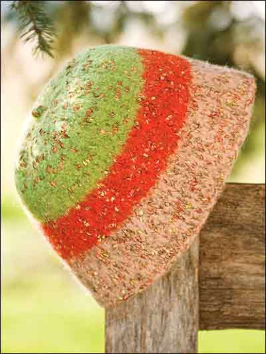 Easy Felted Hat