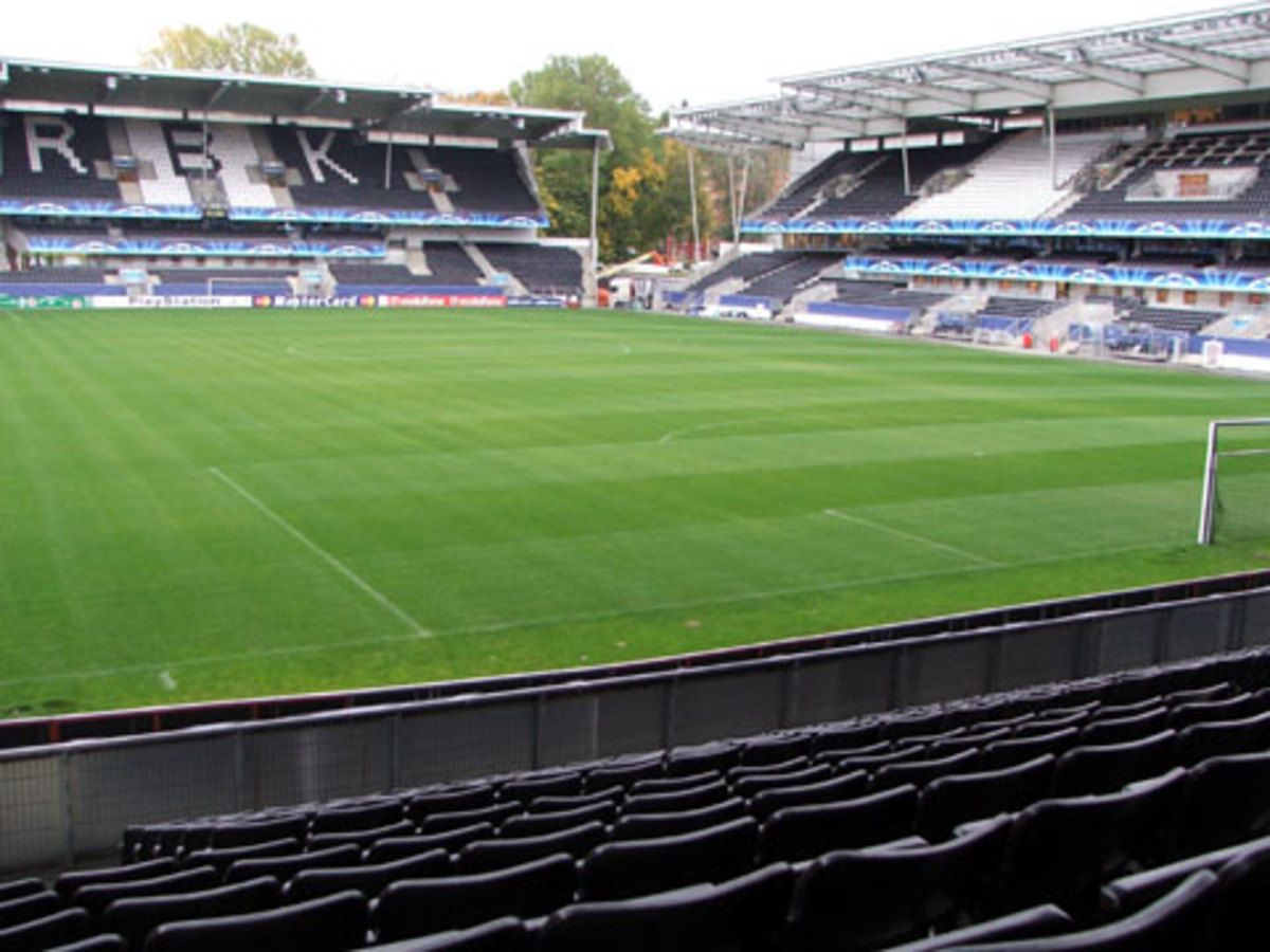 Lerkendal Stadion in Trondheim, Norway hosted the 2016 UEFA Super Cup, the first time a Norwegian venue had hosted a major club cup final
