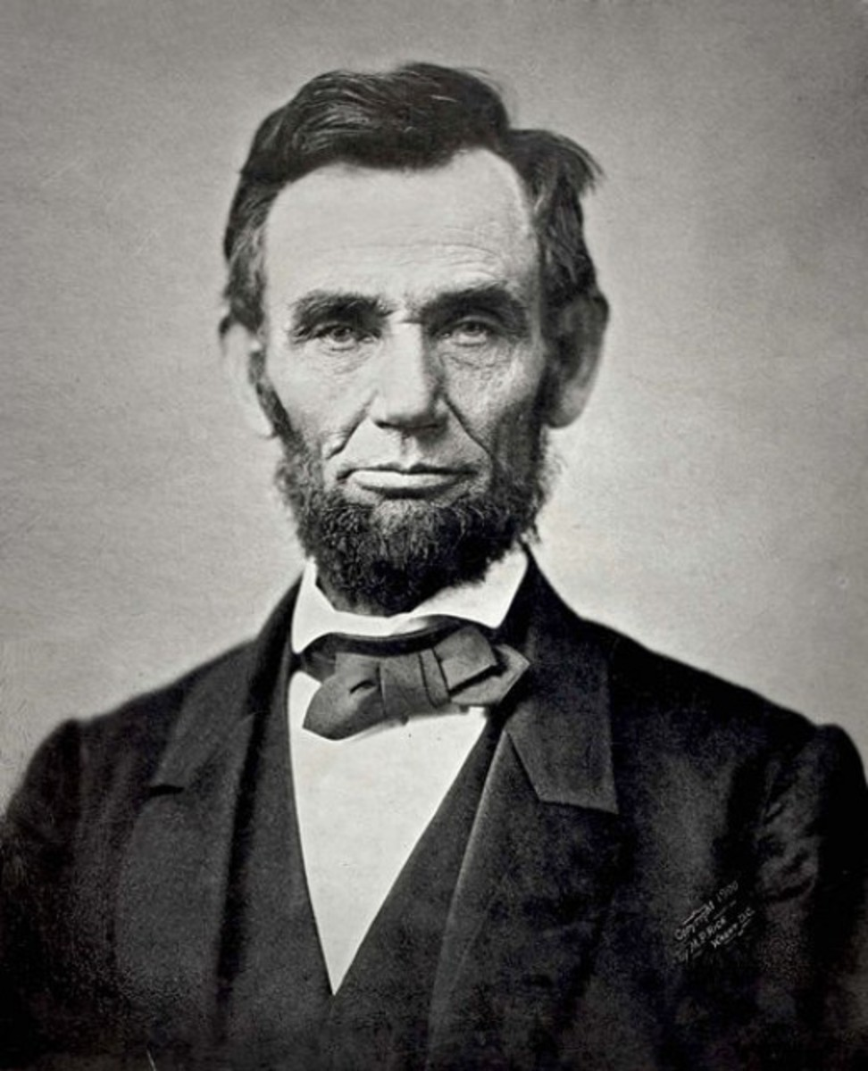 Abraham Lincoln - Lincoln's election effectively triggered the American Civil War.