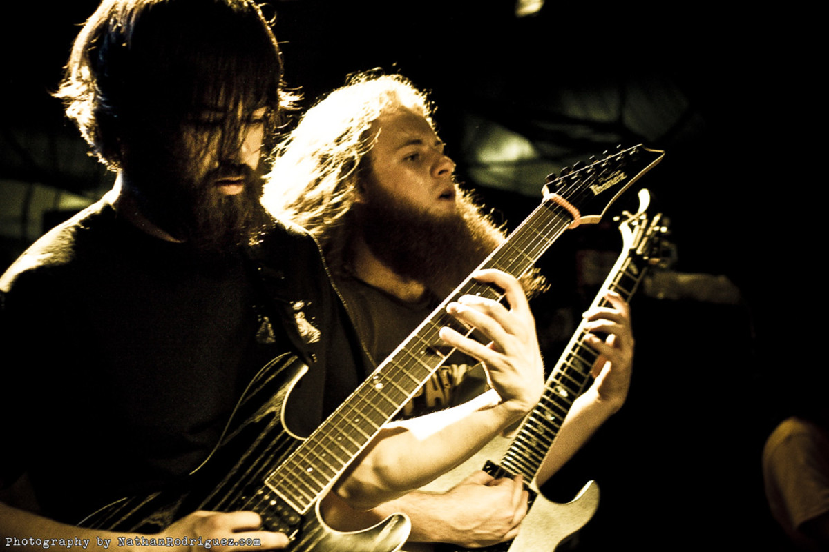 Former students Luke Hoskins and Tim Millar from Protest The Hero