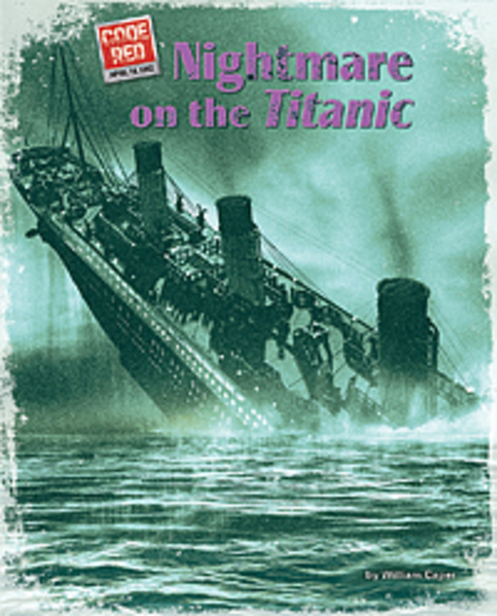 A Titanic book for kids with excellent photos and artwork