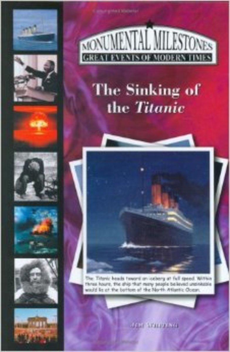 A nonfiction Titanic book that reads like a chapter book