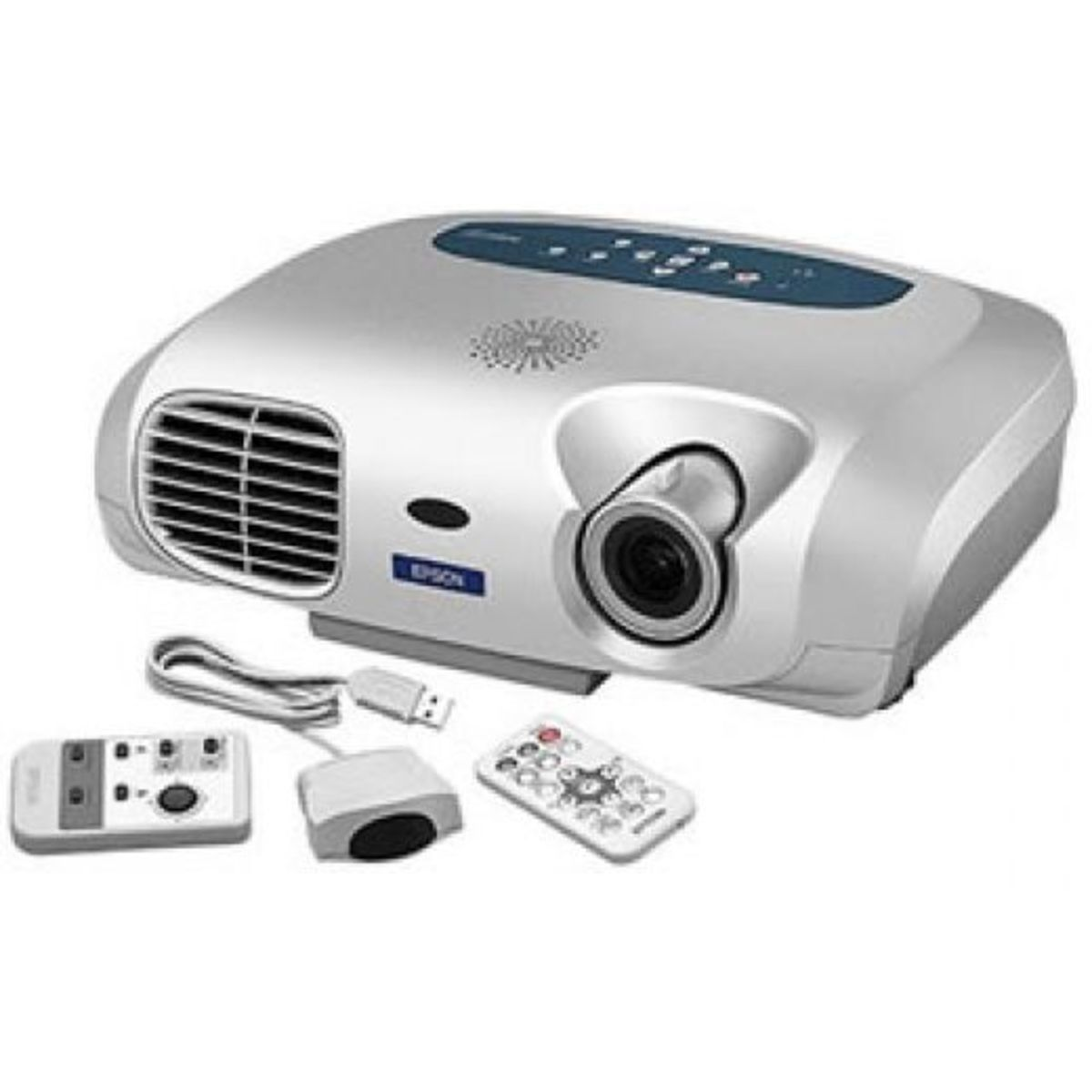 LCD projector displays images, text and learning videos enough for the whole class to see.